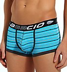 Striped Large Pouch Trunk