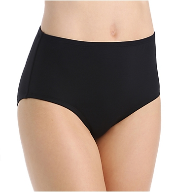 Anne Cole Live In Color Tummy Control High Waist Swim Bottom