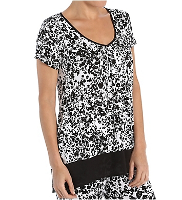 Anne Klein Night And Day Short Sleeve Top