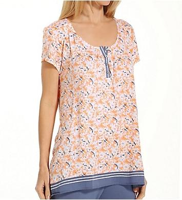 Anne Klein Spring Forward Short Sleeve Top