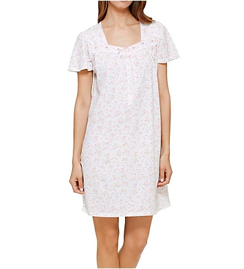 Aria Mint Ditsy Short Sleeve Nightgown