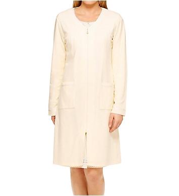 Aria Horizon Long Sleeve Short Zip Robe