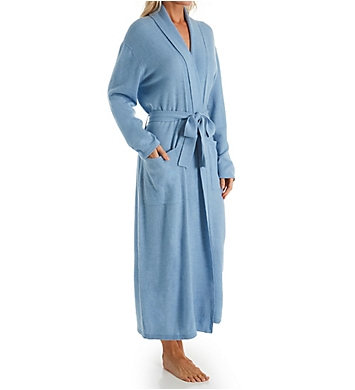 Arlotta Cashmere Classic Long Robe With Shawl Collar