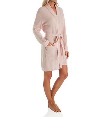 Arlotta Cashmere Classic Short Robe With Shawl Collar