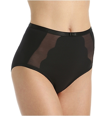 Bali Sheer Sleek Desire Scallop Brief Panty