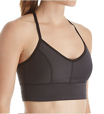 Beyond Yoga Deco Texture T-Back Sports Bra