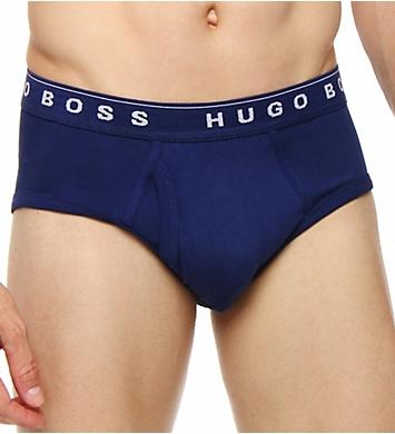 Boss Hugo Boss 100% Cotton Basic Briefs - 3 Pack