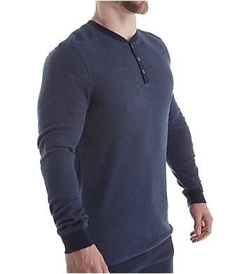 Bread and Boxers Men's Long Sleeve Thermal Henley