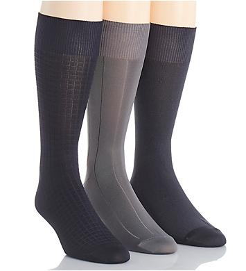 Calvin Klein Calvin Klein Microfiber Assorted Socks - 3 Pack