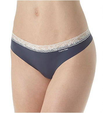 Calvin Klein Invisibles with Lace Thong