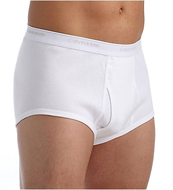 Calvin Klein Big and Tall 100% Cotton Brief - 2 Pack