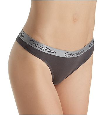 Calvin Klein Radiant Cotton Thong - 3 Pack