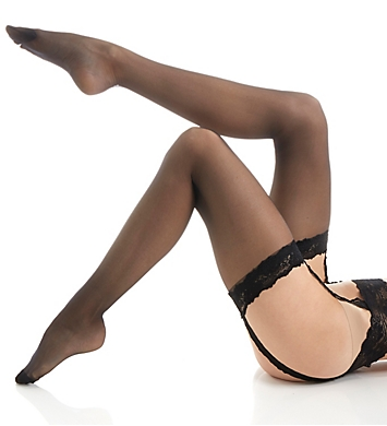 Calvin Klein Ultimate Sexy Stocking with Lace Garter