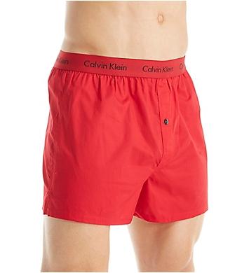 Calvin Klein Cotton Woven Slim Boxer - 3 Pack