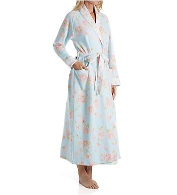 Carole Hochman Mums Diamond Quilt Long Robe