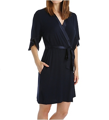 Carole Hochman Midnight Poppy Robe