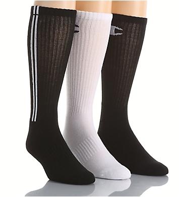 Champion Men's Dyed Crew Socks- 3 Pack