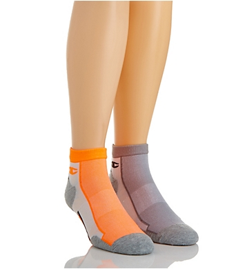 Champion Men's Mid Ankle Running Socks - 2 Pack