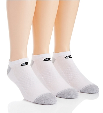 Champion Double Dry Performance No Show Socks - 6 Pack