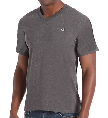 Champion Cotton Jersey Athletic Fit V-Neck Tee