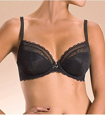 Chantelle C Chic Sexy 3-Part Plunge Underwire Bra