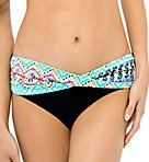 Andes Delight Semi-High Waist Twist Swim Bottom