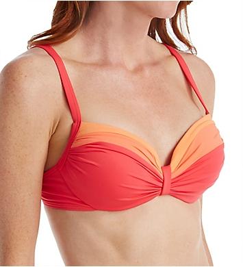Coco Reef Color Blocked Divine Power Swim Top