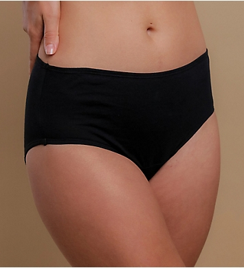 Cottonique Organic Cotton Waist Brief Panty - 2 Pack