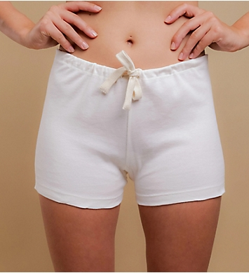 Cottonique Natural Organic Cotton Boyleg Brief Panty - 2 Pack