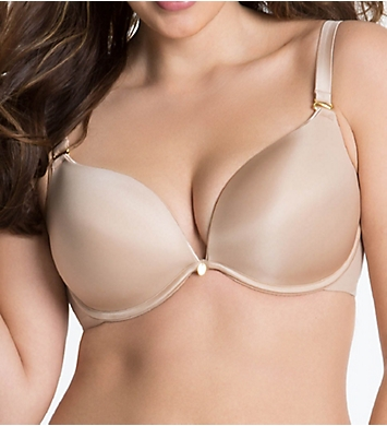 Curvy Couture Essentials Sexy Plunge Convertible Underwire Bra