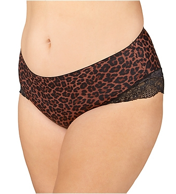 Curvy Couture Foxy Lace Hipster Panty