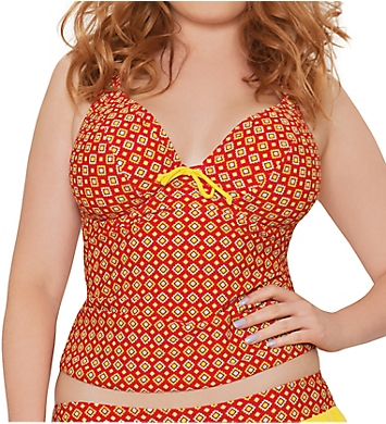 Curvy Kate Casablanca Halterneck Tankini Swim Top