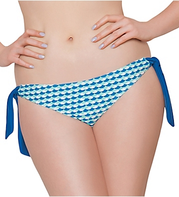 Curvy Kate Atlantis Side Tie Brief Swim Bottom