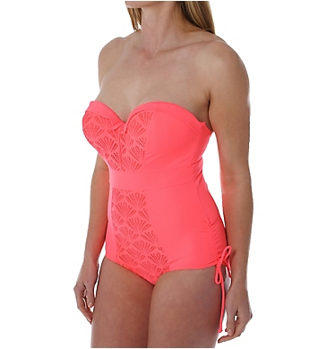 Curvy Kate Siren Strapless One Piece Swimsuit