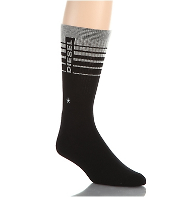 Diesel Terry Cotton Star Embroidered Ray Socks