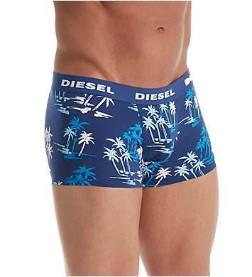 Diesel Shawn Palm Cotton Stretch Trunks - 2 Pack