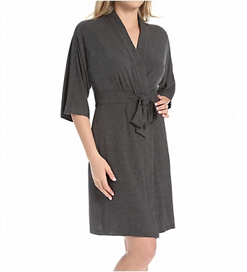 DKNY Urban Essentials 3/4 Sleeve Robe