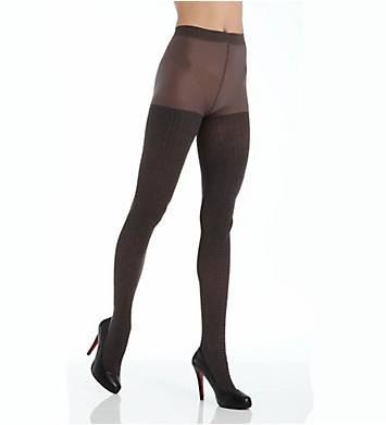 DKNY Hosiery Tarnished Texture Tight