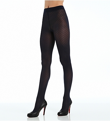 DKNY Hosiery Quilted Jacquard Tight