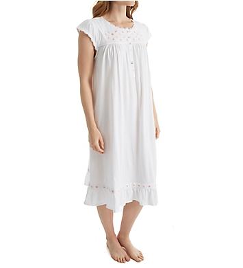 Eileen West Smocking Short Nightgown