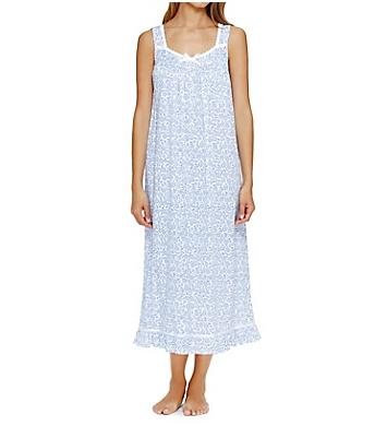 Eileen West Cotton Sheer Jersey Ballet Nightgown