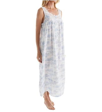 Eileen West Toile Sleeveless Ballet Nightgown