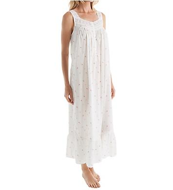 Eileen West Floral Bud Sleeveless Ballet Nightgown
