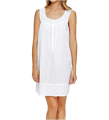 Eileen West Embroidery Short Chemise