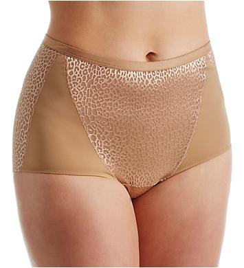 Elila Leopard Lace and Microfiber Panty