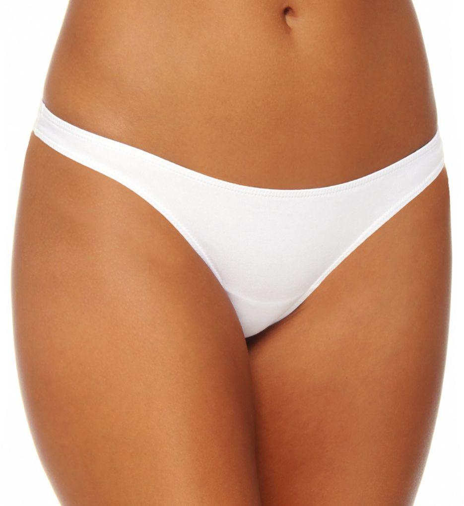 White Cotton Bikini 43