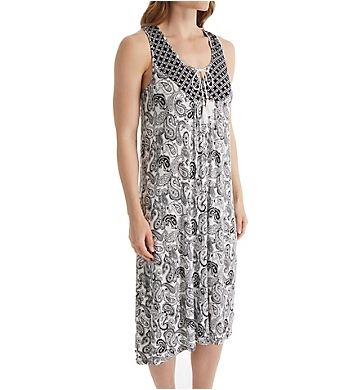 Ellen Tracy Soho Sleeveless Gown