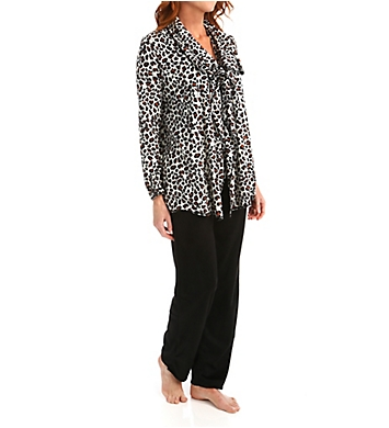 Ellen Tracy Some Like it Cozy Long Sleeve Wrap Set