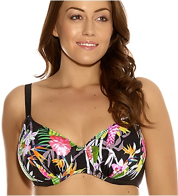 Elomi Kariba Gathered Bikini Swim Top