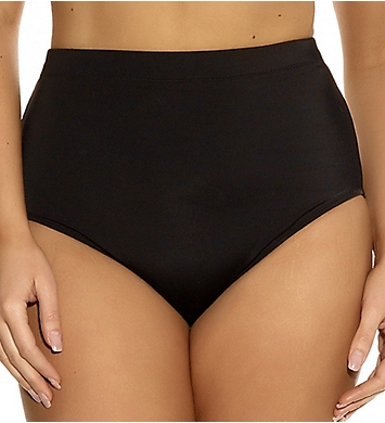 Elomi Essentials Classic High Rise Brief Swim Bottom